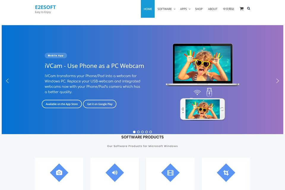 スマホをWebカメラ化するアプリ「iVCam」