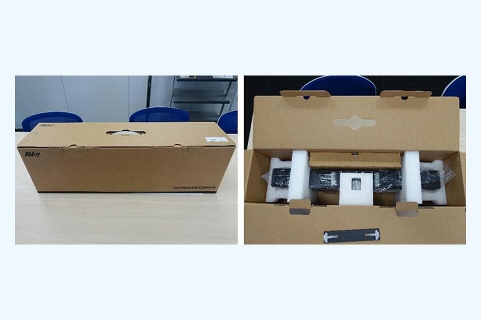 WEBカメラ「VB342+」の重要、外観をチェック01